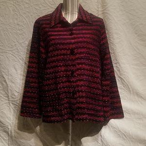 Vintage Koret Multicolor sweater jacket Size M